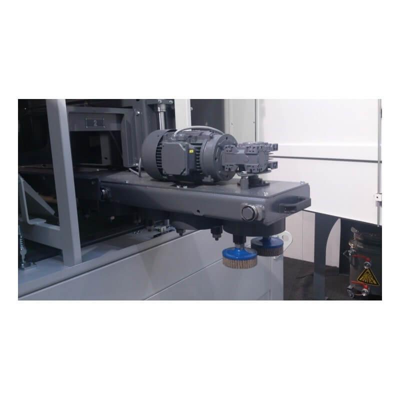 Powerfin Bulldog Through Feed Machine